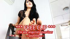 FREE CLIP für alle angemeldeten Kriecher - September